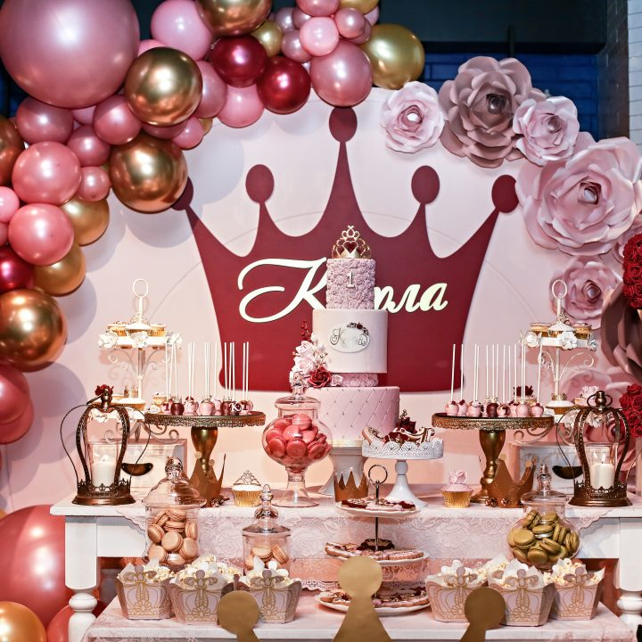 Princess Crown Theme Birthday Party