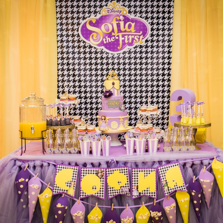 Sofia The First Theme Birthday Party