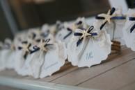 Табелките с имената на гостите